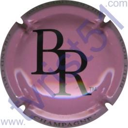 BILLIONNAIRES-ROW n°01 rose et noir