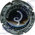 BILLECART-SALMON n°56 noir et argent liseret