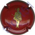 BERTRAND DE BESSAC n°07 rouge et or