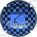 CARRE Vincent n°03 bleu ciel et noir