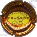 CHANOINE n°03 lettres marron
