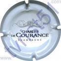 CHARLES DE COURANCE : blanc et argent