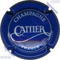 CATTIER n°08c bleu et argent