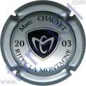 CHAUVET Marc n°06 millésime 2003 argent