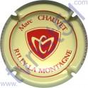 CHAUVET Marc n°07 crème et rouge