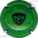 CHAUVET Marc n°14 vert et noir