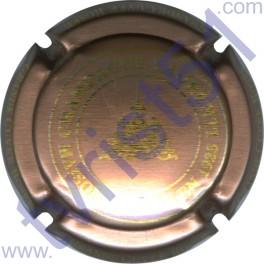 LAURENTI n°04 cuivre mat et or