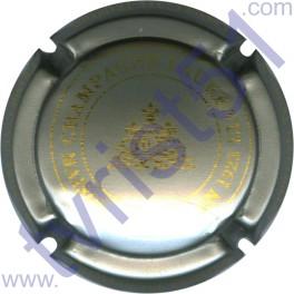 LAURENTI n°03 gris-argenté et or