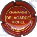 DELAGARDE Michel n°01 brique et crème