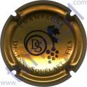 DEGENNE-SQUELART n°22 or-bronze et noir