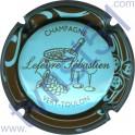 LEFEVRE Sébastien n°07 bleu pâle contour marron