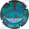 BERTRAND Pierre : bleu turquoise et framboise