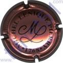 LENIQUE Michel n°03 rosé et noir striée