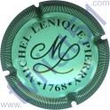 LENIQUE Michel n°08 vert clair et noir striée