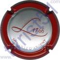 LENIQUE Michel n°31i Médaille d'Argent contour bordeaux