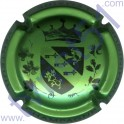 LEMAIRE Dominique n°16 gros blason vert métallisé et noir