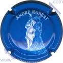 ROBERT André n°08 bleu et blanc