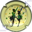 COTEAUX SIX CHARLES HESTON n°01 danseurs vert