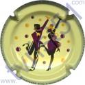 COTEAUX SIX CHARLES HESTON n°03 danseurs bordeaux
