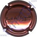 LEMAIRE R.C. : Rosé de Saignée cuivre-rosé et noir