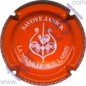 SAVOYE Janick n°19 orange et blanc