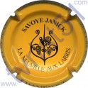 SAVOYE Janick : jaune-orangé et noir