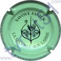 SAVOYE Janick : vert pâle et noir