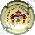 DEMIERE M. n°03 crème rouge et or