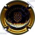PHILIPPONNAT : Clos des Goisses noir contour or-bronze