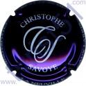 SAVOYE Christophe n°04 violet métallisé et blanc