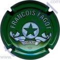 FAGOT François : petites lettres vert