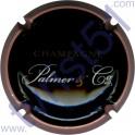 PALMER n°16b noir contour rose