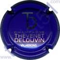 THEVENET-DELOUVIN n°12 violet vif et métal