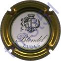 BLONDEL n°31 contour or lettres noires