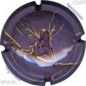VRANKEN n°38 fond gris violet quart