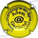 ADAM-GARNOTEL n°06 jaune et noir
