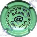 ADAM-GARNOTEL n°08 vert pâle et noir
