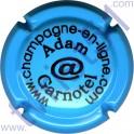 ADAM-GARNOTEL n°09 bleu ciel et noir