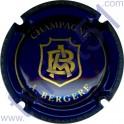 BERGERE A. n°13a bleu et or