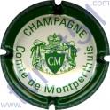COMTE DE MONTPERTHUIS n°04a crème et vert