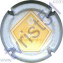 SENDRON-DESTOUCHES n°06 blanc et jaune