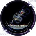 SECONDE-SIMON n°10a noir contour violet métallisé