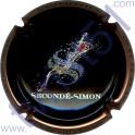 SECONDE-SIMON n°10d noir contour cuivre