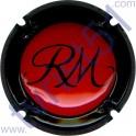 MANCEAUX Roger n°14e rouge contour noir