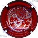 PLANCON n°07 rouge et argent