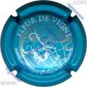 PLANCON n°08 bleu turquoise et argent