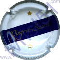 PINGRET-SACRET n°02 blanc barre bleu