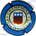 PHILIPPONNAT n°22 contour bleu
