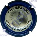DRIANT-VALENTIN n°14c contour bleu