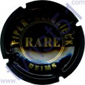 PIPER-HEIDSIECK n°121 noir et or Cuvée Rare 32mm